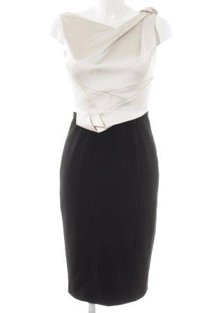 KAREN MILLEN Abendkleid schwarz-hellbeige Elegant