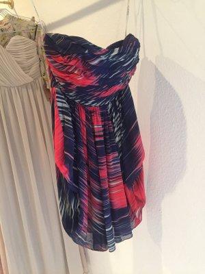 Karen Millen bandeau Kleid neu minikleid 36 38 Abendkleid lila pink