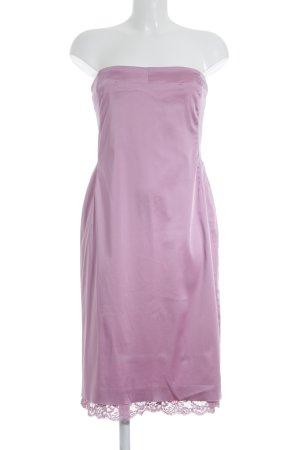 KAREN MILLEN Vestido bandeau rosa elegante