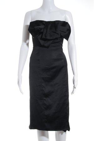 KAREN MILLEN Vestido bandeau negro elegante