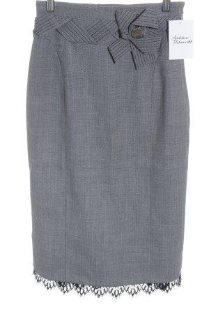 KAREN MILLEN Bleistiftrock schwarz-weiß Business-Look
