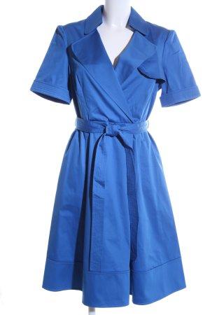 KAREN MILLEN Blusenkleid blau Elegant