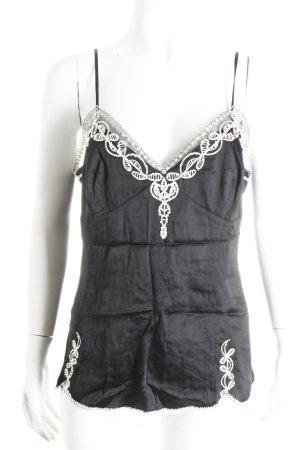 KAREN MILLEN Camisole zwart zakelijke stijl