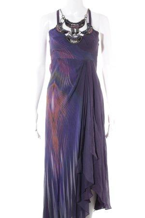 KAREN MILLEN Robe chiffon violet foncé-violet style festif