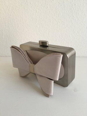Karen Millen Clutch Silber Metall