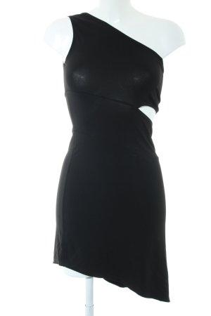 KAREN MILLEN Cut-Out-Kleid schwarz Casual-Look