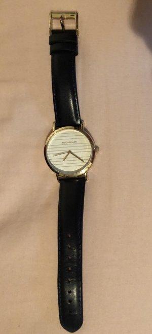 KAREN MILLEN Analoog horloge donkerblauw-goud