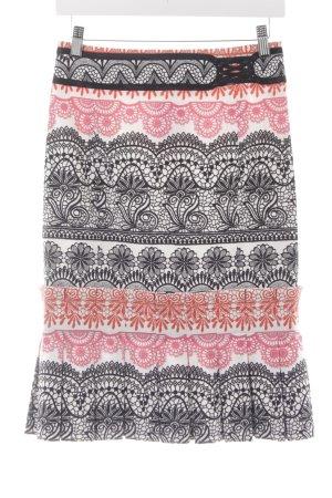 KAREN MILLEN Jupe à plis motif floral style extravagant