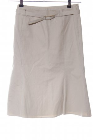 KAREN MILLEN Godet Skirt natural white casual look
