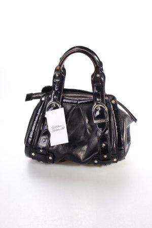KAREN MILLEN Handtasche schwarz klassischer Stil