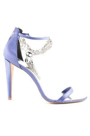 KAREN MILLEN High Heel Sandaletten dunkelblau extravaganter Stil