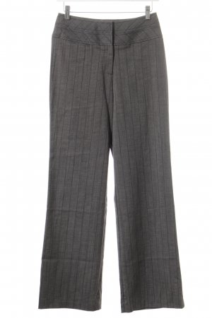 KAREN MILLEN High-Waist Hose grau-blau meliert Business-Look