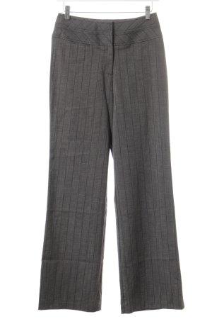 KAREN MILLEN Hoge taille broek grijs-blauw gestippeld zakelijke stijl