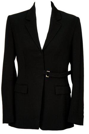 Karen Millen Jacke in Schwarz aus Schurwolle