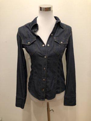 Karen Millen jeanshemd jeansbluse grösse 40