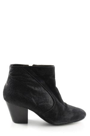KAREN MILLEN Wedge Booties black elegant