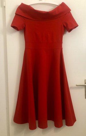 KAREN MILLEN Petticoat Dress red