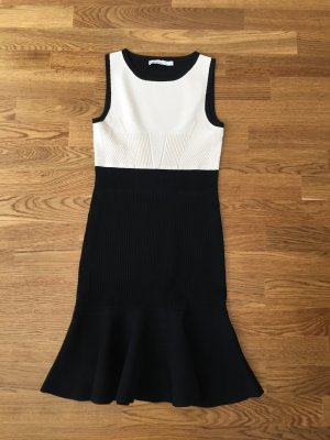 KAREN MILLEN Kleid in schwarz/creme