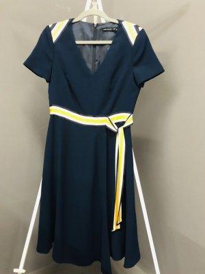 Karen Millen Kleid Midi dress Blau Neu 38/40