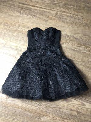KAREN MILLEN Vestido bustier negro
