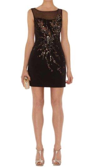 Karen Millen Kleid schwarz mit Pailletten NEU
