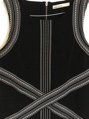 Karen Millen Kleid schwarz/weiß