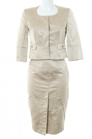 KAREN MILLEN Ladies' Suit natural white quilting pattern business style