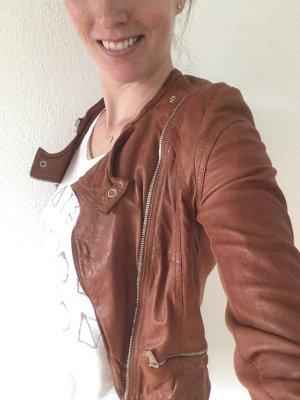 Karen Millen Lederjacke Gr. 34, Designer, Luxus
