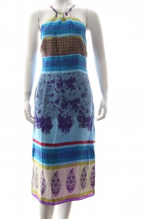 KAREN MILLEN Halter Dress floral pattern hippie style