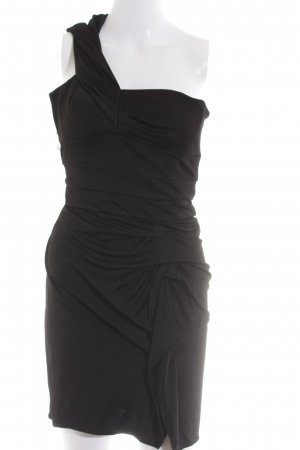 KAREN MILLEN One-Shoulder-Kleid schwarz Party-Look