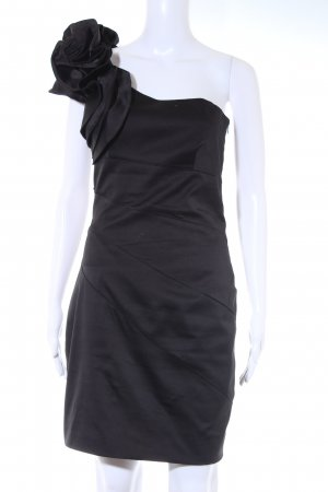 KAREN MILLEN One-Shoulder-Kleid schwarz Elegant