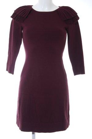 KAREN MILLEN Sweater Dress brown violet elegant