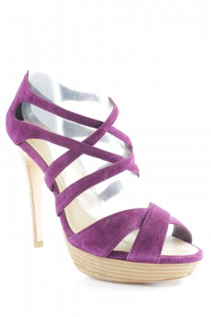 KAREN MILLEN Strapped pumps multicolored casual look