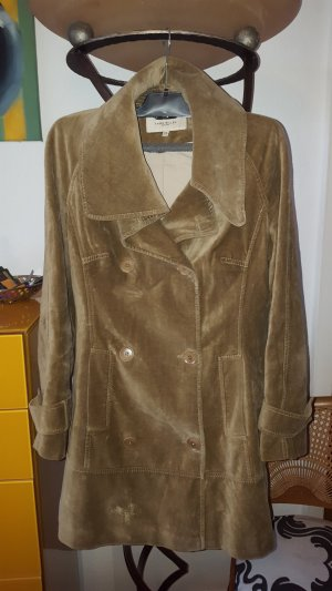 KAREN MILLEN Heavy Pea Coat sand brown mixture fibre