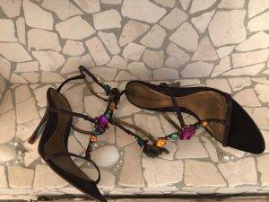 KAREN MILLEN Sandalen mit Swarovski Steinen in der Größe 38,5