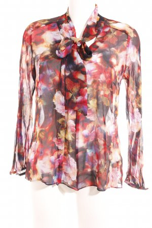KAREN MILLEN Blouse avec noeuds motif abstrait style extravagant