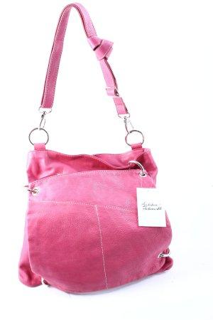 KAREN MILLEN Schultertasche pink-silberfarben Casual-Look
