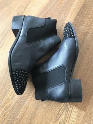 KAREN MILLEN Slip-on Booties black