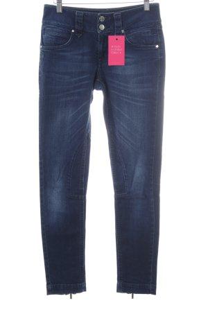 KAREN MILLEN Skinny Jeans dunkelblau Casual-Look