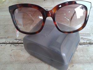Karen Millen Sonnenbrille, NEU, sehr geschmackvolle silberfarbene Bügel