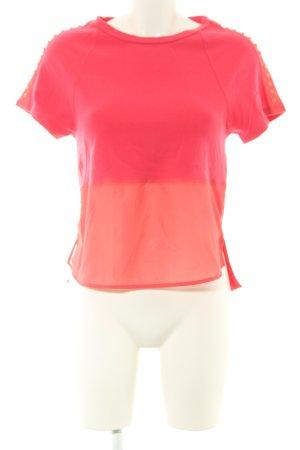 KAREN MILLEN T-Shirt rot-hellorange Casual-Look