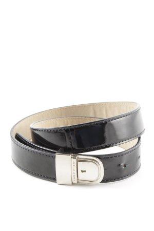 KAREN MILLEN Cinturón pélvico negro estilo «business»