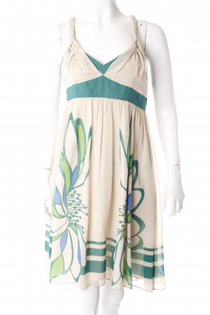 Karen Millen Trägerkleid Beige Grün
