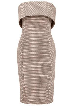 Karen Millen trägerloses Kleid, beige