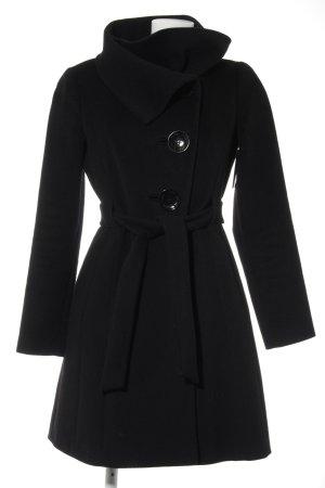 KAREN MILLEN Between-Seasons-Coat black business style