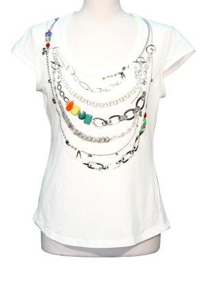 Karen Millen Weißes T-Shirt