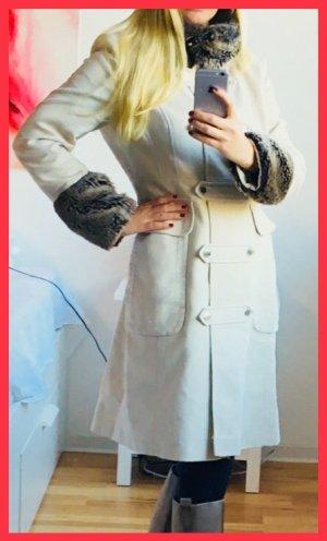 KAREN MILLEN Cappotto in eco pelliccia multicolore Cotone