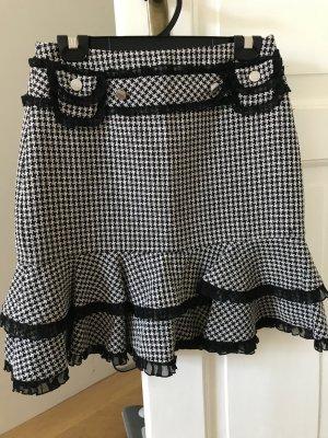 Karen Mullen skirt in black white