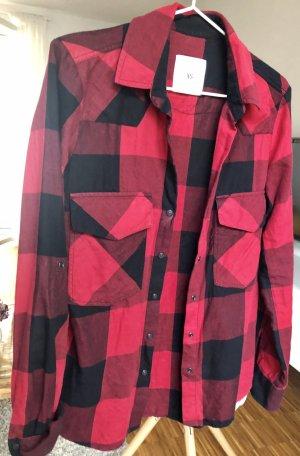 Zara Woman Geruite blouse veelkleurig