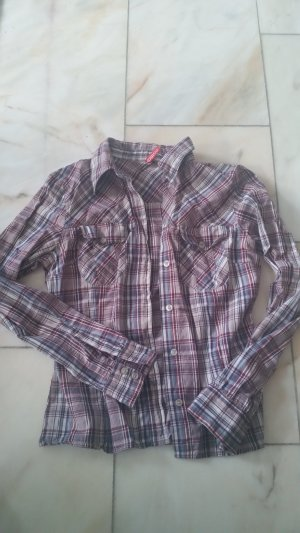 H&M Checked Blouse multicolored